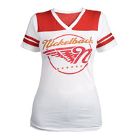 Nickelback Wings Junior V-neck Tee