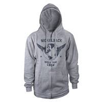 Nickelback World Tour Crew Zip Hoodie