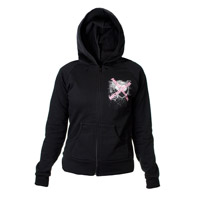 Nickelback Crossed Heart Junior Zip Hoodie