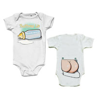Nickelback Bottoms Up Onesie