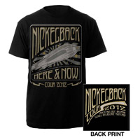 Nickelback Rocket Ship AUS Tour Tee