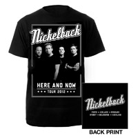 Nickelback Band Photo AUS Tour Tee