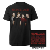 Nickelback Photo Tour Tee