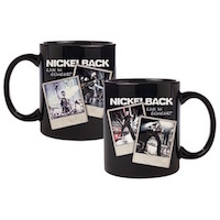 Nickelback Polaroid Black Mug