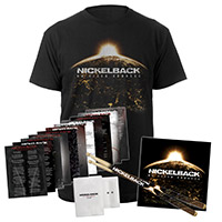 No Fixed Address Tee + CD +Drum Sticks & Numbered Lyric Sheets Bundle Exclusive