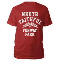 NKOTB Faithful Fenway Park Tee