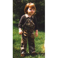Kids Camo Overalls
