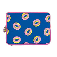 "ALL-OVER DONUT 15"" LAPTOP SLEEVE"
