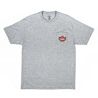 DOMO HIGH SWISHER POCKET TEE HEATHER GREY