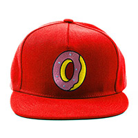 SINGLE DONUT SNAPBACK RED
