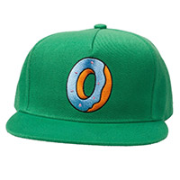 SINGLE DONUT SNAPBACK GREEN