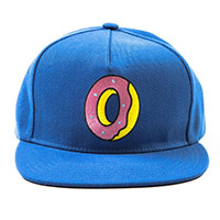 SINGLE DONUT SNAPBACK ROYAL BLUE
