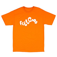 FEEL GOOD LOGO TEE ORANGE
