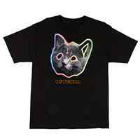 OFWGKTA TRON CAT TEE BLACK