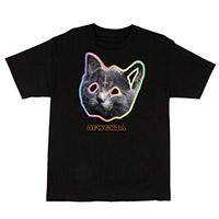 OFWGKTA TRON CAT TEE BLACK