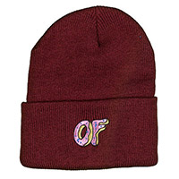 OF DONUT BEANIE RED