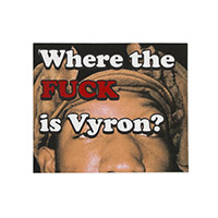 WTF IS VYRON STICKER