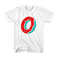 RED FROSTED DONUT TEE