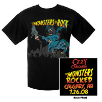 Monsters Of Rock 2008 Calgary Edition Tee