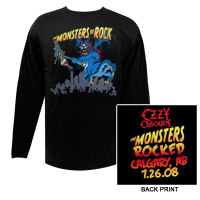 Monstrers Of Rock Long Sleeve