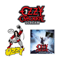 Ozzy Osbourne Sticker Pack