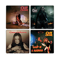 Ozzy Osbourne 4pc. Wood Coaster Set