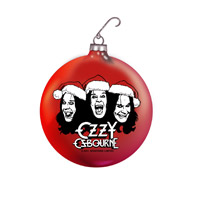 Ozzy Osbourne Holiday Ornament