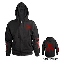 New - Ozzy Zip-Up Hooded Sweatshirt