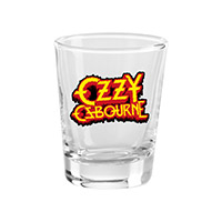 New - Ozzy Osbourne Shot Glass