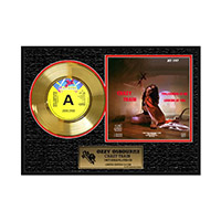 Collectors Edition Crazy Train Gold Record