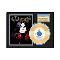 Collectors Edition Get Me Through Ozzy Gold 45 LP