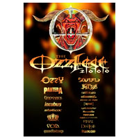 Ozzfest 2000 Poster