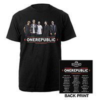 OneRepublic 2017 Tour Photo T-Shirt