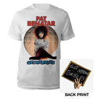 Pat Benatar Get Nervous Tour 2012 Tee