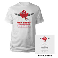 Tom Petty & The Heartbreakers Canadian Tour Tee