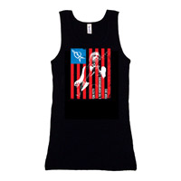 American Flag Tour 2013 Womens Tank
