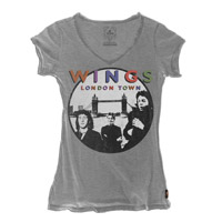 Trunk Wings London Town V-Neck Tee