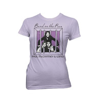Paul McCartney & Wings Band On The Run Women's Tee