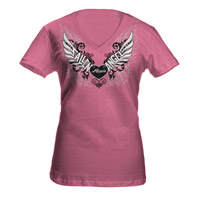 Fallen Angel Ladies V-Neck