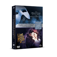 Phantom of the Opera/Love Never Dies (Double Pack) DVD