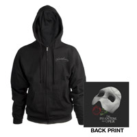 Black Phantom Of The Opera Hooded Sweatshirt from the German Tour