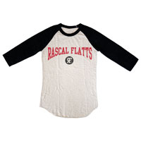 Rascal Flatts Ladies Burnout Jersey