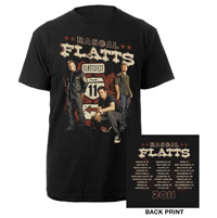 Rascal Flatts 2011 Tour Tee