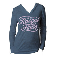 Rascal Flatts Changed Burnout Jr Hoodie