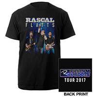 Rascal Flatts Black Tour Tee 2017