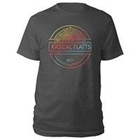 Rascal Flatts 2017 Tour Tee