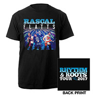 Rascal Flatts Live Rhythm & Roots Tee