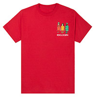 Three Robots Red Tee