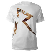 Unique &quot;R&quot; Logo T-Shirt