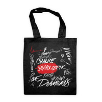 Unapologetic Lyrics Cotton Tote Bag